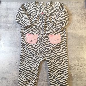 Add on for $1! Infant Cat Fleece Bodysuit